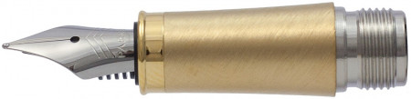 Parker IM Gold Trim Nib - Stainless Steel