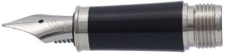 Parker IM Black Chrome Trim Nib - Stainless Steel