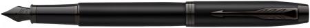Parker IM Fountain Pen - Achromatic Matte Black PVD Trim