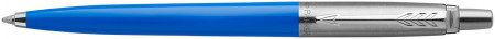 Parker Jotter Original Ballpoint Pen - Blue Chrome Trim
