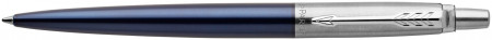 Parker Jotter Ballpoint Pen - Royal Blue Chrome Trim