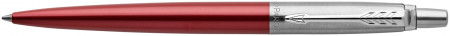 Parker Jotter Ballpoint Pen - Kensington Red Chrome Trim