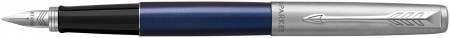 Parker Jotter Fountain Pen - Royal Blue Chrome Trim (Gift Boxed)