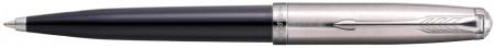 Parker 51 Ballpoint Pen - Black Resin Chrome Trim