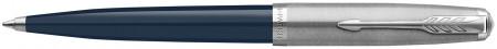 Parker 51 Ballpoint Pen - Midnight Blue Resin Chrome Trim