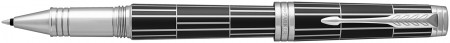 Parker Premier Rollerball Pen - Luxury Black Palladium Trim