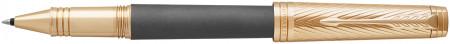 Parker Premier Rollerball Pen - Storm Grey Gold Trim