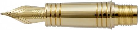 Parker Premier Pre-2017 Gold Trim Nib - Solid 18K Gold