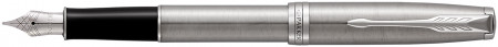 Parker Sonnet Fountain Pen - Stainless Steel Chrome Trim