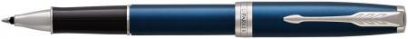 Parker Sonnet Rollerball Pen - Blue Lacquer Chrome Trim