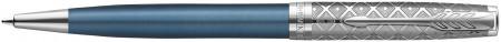 Parker Sonnet Premium Ballpoint Pen - Metal & Blue