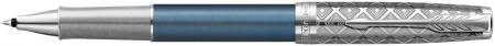 Parker Sonnet Premium Rollerball Pen - Metal & Blue