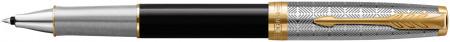 Parker Sonnet Premium Rollerball Pen - Metal & Black