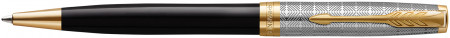 Parker Sonnet Premium Ballpoint Pen - Metal & Black