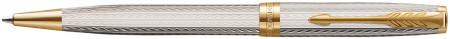 Parker Sonnet Premium Ballpoint Pen - Silver Mistral