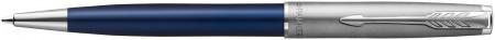 Parker Sonnet Essentials Ballpoint pen - Matte Blue & Sandblasted Steel