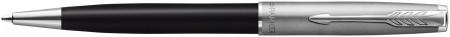 Parker Sonnet Essentials Ballpoint Pen - Matte Black & Sandblasted Steel