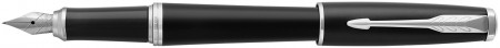 Parker Urban Fountain Pen - Muted Black Chrome Trim