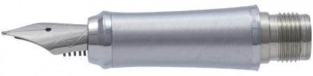 Parker Urban Grey Chrome Trim Nib - Stainless Steel
