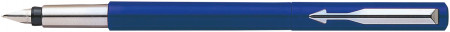 Parker Vector Fountain Pen - Blue Chrome Trim