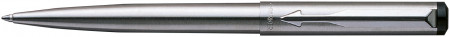Parker Vector Ballpoint Pen - Stainless Steel Chrome Trim