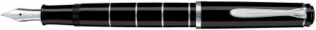 Pelikan Classic 215 Fountain Pen - Black Rings
