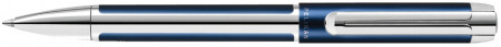 Pelikan Pura Ballpoint Pen - Blue & Silver