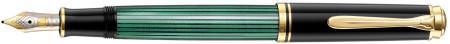 Pelikan Souverän 400 Fountain Pen - Black & Green