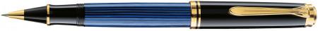 Pelikan Souverän 400 Rollerball Pen - Black & Blue
