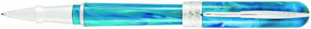 Pineider Avatar UR Rollerball Pen - Abalone Green