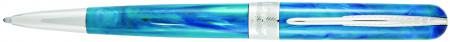 Pineider Avatar UR Ballpoint Pen - Abalone Green