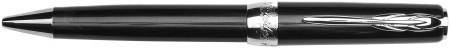 Pineider Full Metal Jacket Ballpoint Pen - Midnight Black