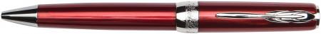 Pineider Full Metal Jacket Ballpoint Pen - Army Red