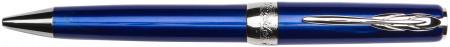 Pineider Full Metal Jacket Pencil - Lightning Blue