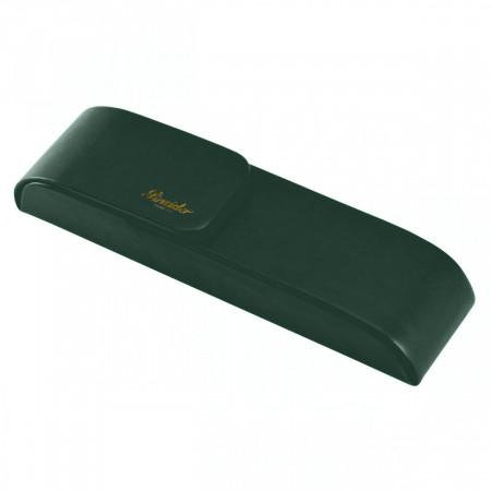 Pineider Pen Case for Two Pens - Serpentine Green