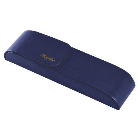 Pineider Pen Case for Two Pens - Blue