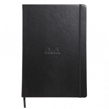 Rhodia Webnotebook - Large Black - Ruled
