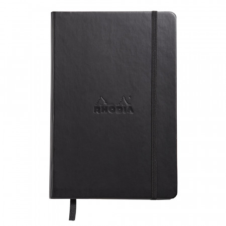 Rhodia Webnotebook  - Medium Black - Ruled