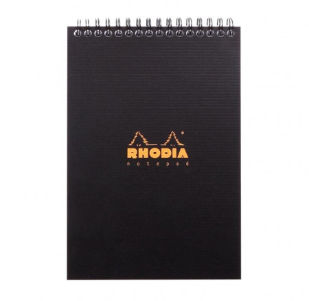 Rhodia Wirebound Notebook - A5 Standard Ruled