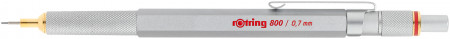 Rotring 800 Mechanical Pencil - Silver Barrel - 0.70mm