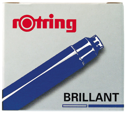 Rotring Art Pen Ink Cartridge (box of 6)