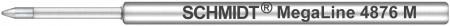 """Schmidt S4876M Megaline 3"""" Ballpoint Refill"""