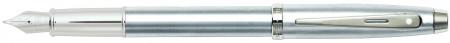 Sheaffer 100 Fountain Pen - Brushed Chrome Nickel Trim