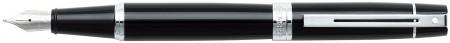 Sheaffer 300 Fountain Pen - Gloss Black Chrome Trim