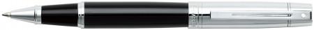 Sheaffer 300 Rollerball Pen - Gloss Black & Chrome