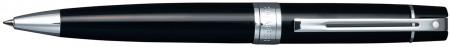 Sheaffer 300 Ballpoint Pen - Gloss Black Chrome Trim