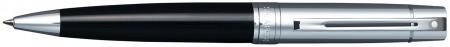 Sheaffer 300 Ballpoint Pen - Gloss Black & Chrome