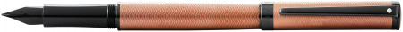 Sheaffer Intensity Fountain Pen - Engraved Bronze PVD Trim