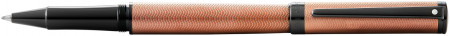 Sheaffer Intensity Rollerball Pen - Engraved Bronze PVD Trim