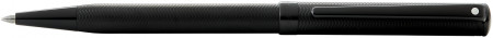 Sheaffer Intensity Ballpoint Pen - Engraved Matte Black PVD Trim